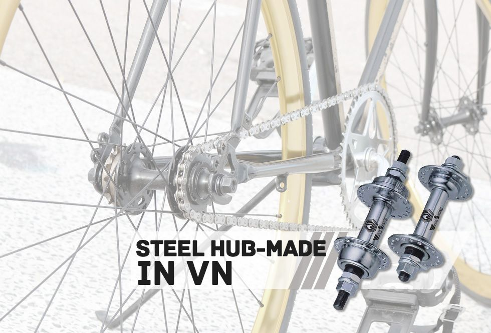 Steel hub-made in VN
